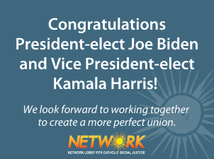 NETWORK Urges Biden-Harris Administration to Address Suffering in our Nation