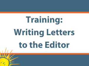 How To Write A Letter to the Editor