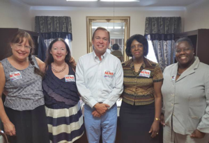 The South Carolina Advocates Team meets with Rep. Mulvaney (SC-05)