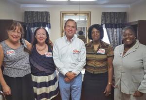 The South Carolina Advocates Team meets with Rep. Mulvaney (SC-05)